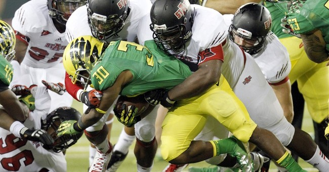 Column: College playoff looks a lot like Super Bowl