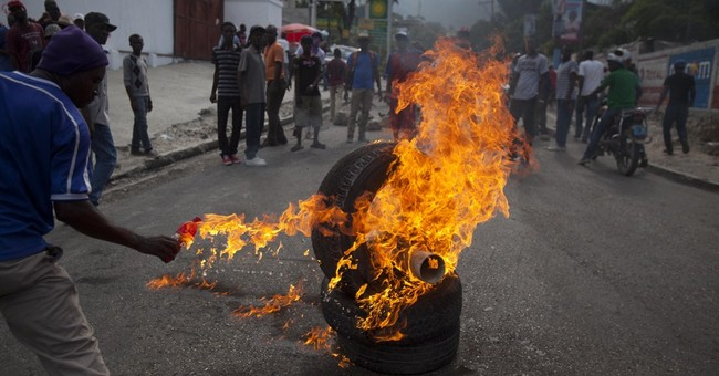 Haiti protesters again rally to demand president's departure