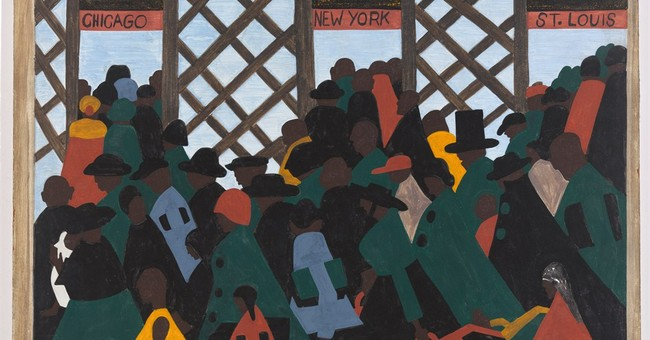 Jacob Lawrence's Great Migration series on view at MoMA