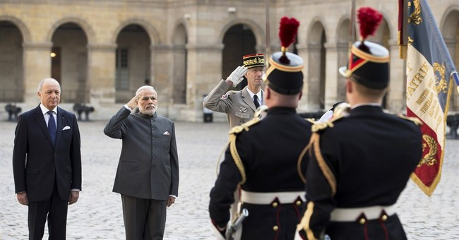 India's Modi arrives in France as part of European tour