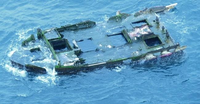 Boat chunk off Oregon coast thought to be tsunami debris