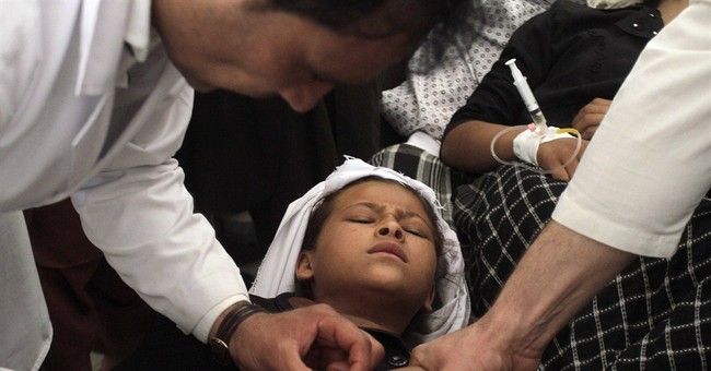 Health official: Over 100 Afghan schoolchildren fall ill