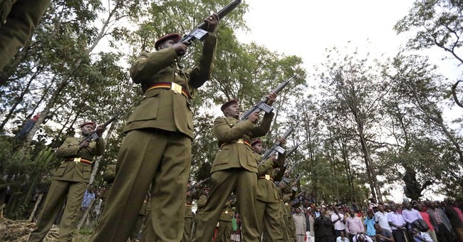 Kenya: Hero's burial for officer who helped stop attack
