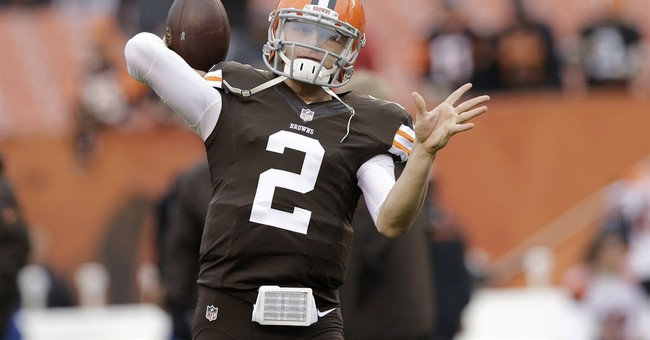 AP Source: QB Johnny Manziel released from rehab
