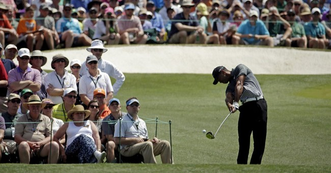 Spieth sets another Masters record, has 4-shot lead