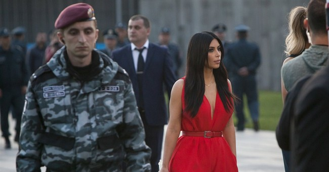 Kardashian's church visit ruffles Armenian bishop
