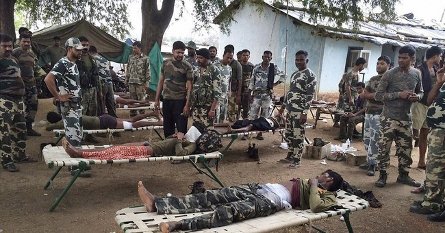Rebels ambush police in central Indian forest, killing 7