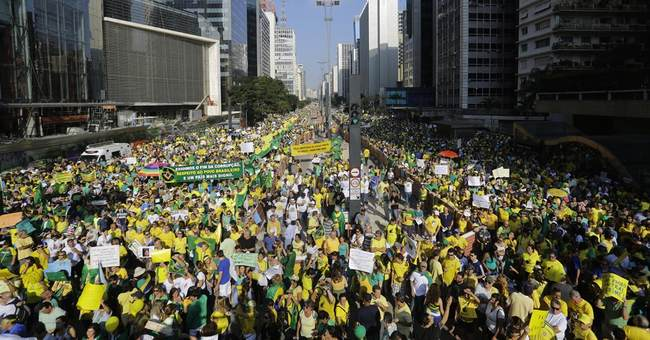 Brazil VP says government is 'paying attention' to protests