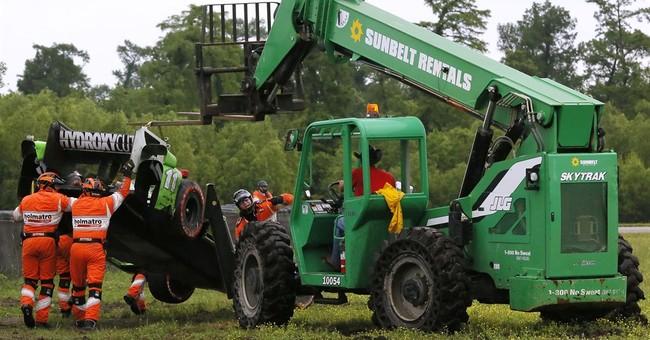IndyCar punishes Hunter-Reay over New Orleans crash