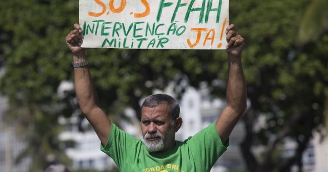 Protests across Brazil seek ouster of president