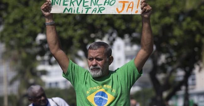 Protests across Brazil seek ouster of president