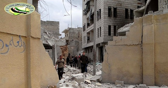 Syrian government airstrikes kill at least 9 in Aleppo