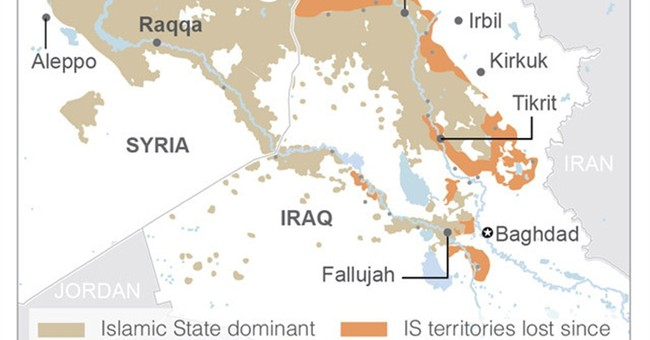 Pentagon: Islamic State loses ground in Iraq, gains in Syria