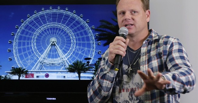 Wallenda plans to walk on 400-foot Orlando observation wheel
