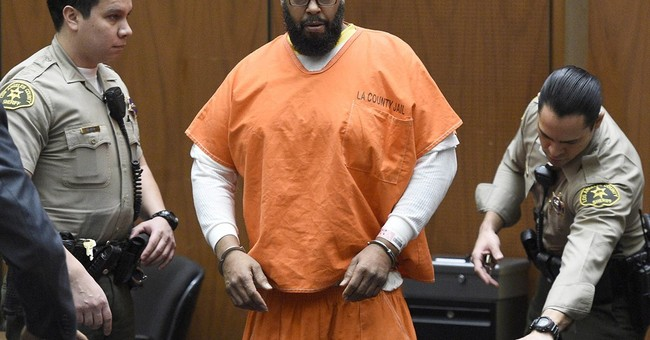 Man run over by Suge Knight says he punched ex-rap mogul