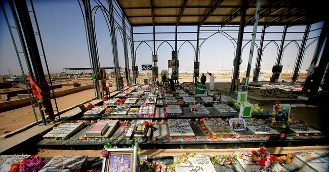 Vast Iraqi Shiite cemetery grows with Islamic State war dead
