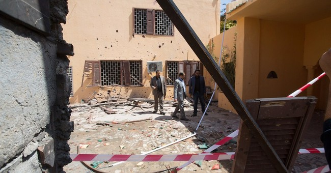 Islamic State militants target Moroccan Embassy in Libya