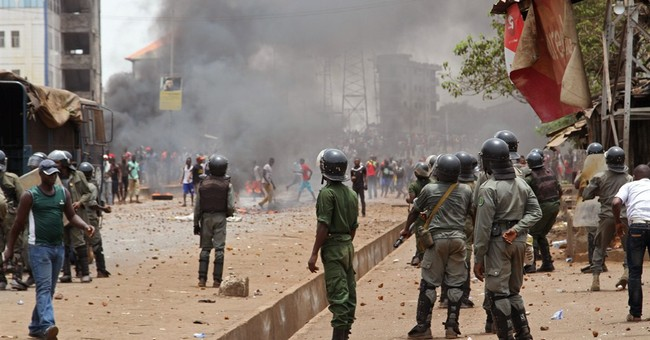 Guinea sees violence for 2nd day between opposition, police