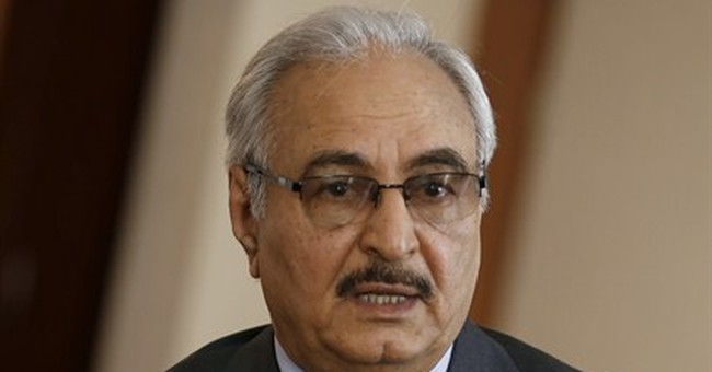 AP Interview: Libya army chief bets on military solution