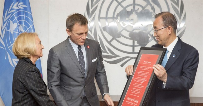 UN chief gives 007 a special mission _ to eliminate mines