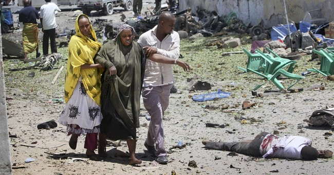 Somali police say 10 die in attack on education office
