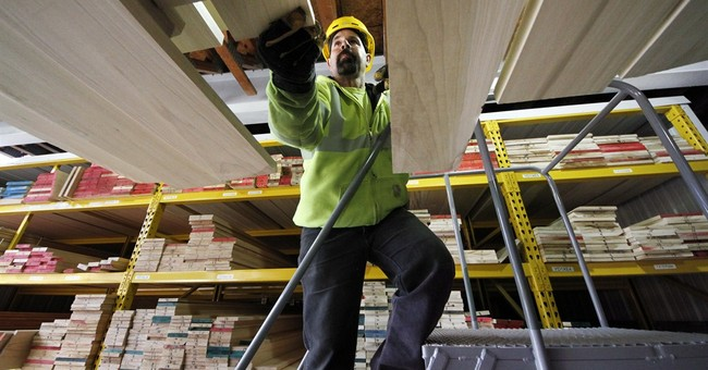 US businesses boosted stockpiles 0.3 percent in February