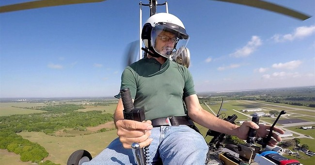 Wife of gyrocopter pilot: 'Very brave,' but he broke the law