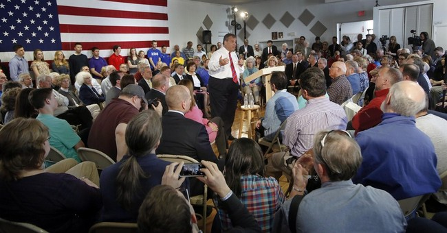 Christie tries to turn things around in New Hampshire
