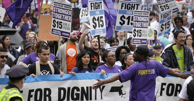 Fight for $15 protests expand for low-wage workers