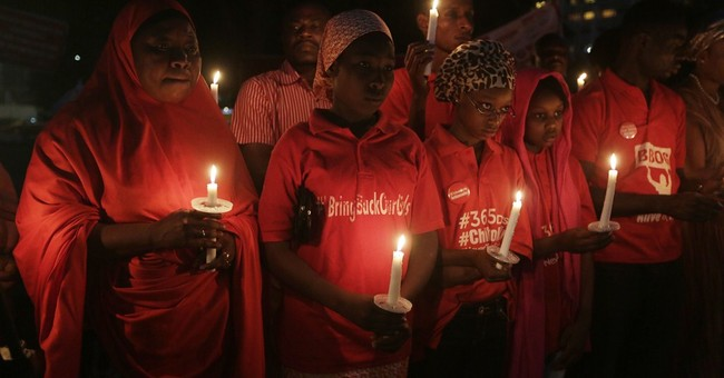 Nigerian military focus on area abducted girls believed held
