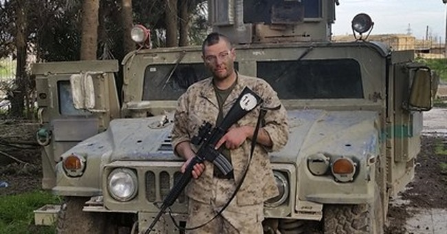US vets return to Mideast to battle past and present demons