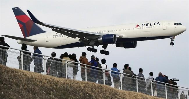 Delta's 1Q profit rises on more traffic, lower fuel prices