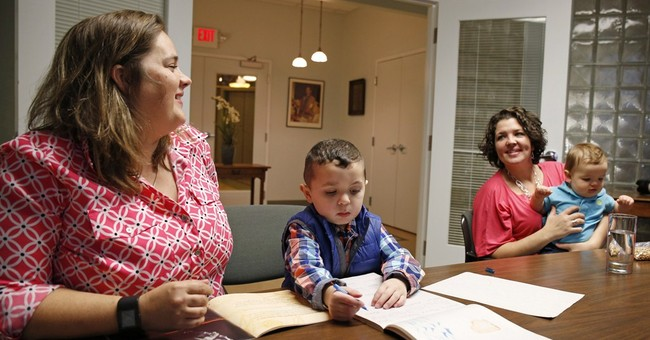Lesbian couple wants to lift obstacles to raising children
