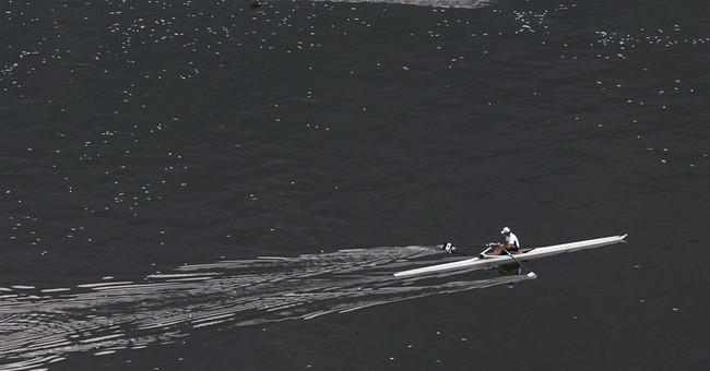 37  tons of dead fish removed from Rio Olympic rowing venue