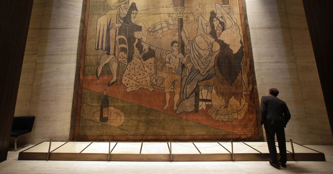 Picasso stage curtain going on long-term view at NYC museum