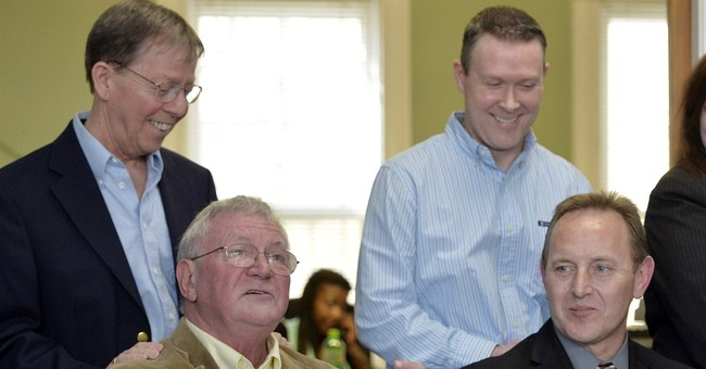 Adoption struggle leads couple into gay marriage fight