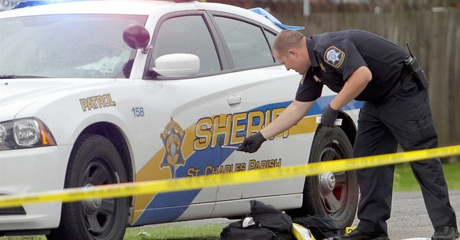 Louisiana deputy shot while directing traffic near school