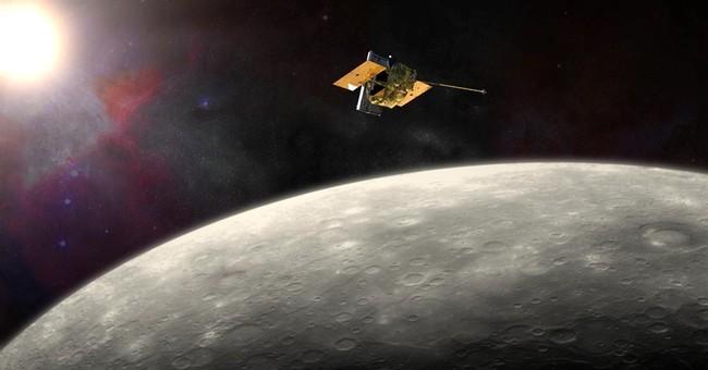 Spacecraft circling Mercury will crash into planet April 30