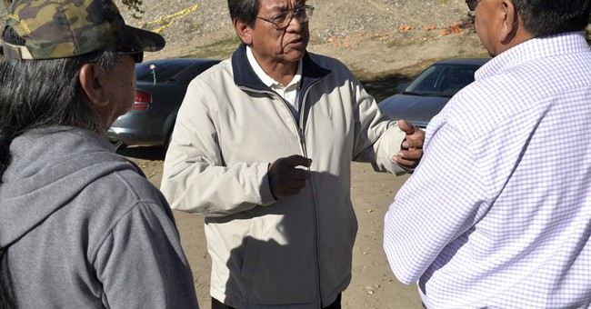 Navajo voters head to polls in belated presidential election
