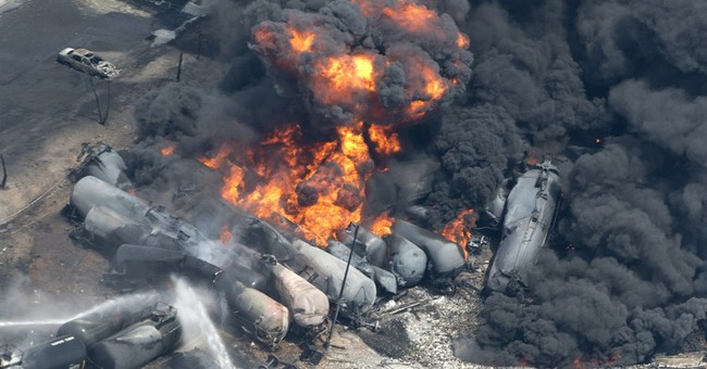 Transportation officials issue oil train safety measures