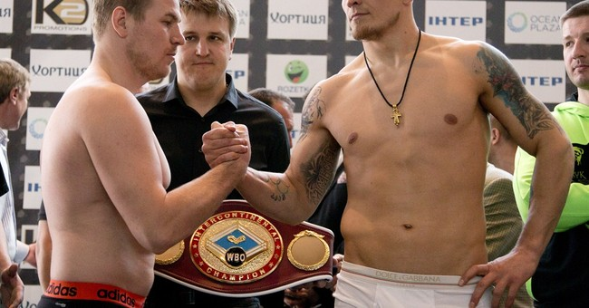Ukrainian fighting in and out of the ring