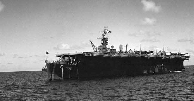 Sunken aircraft carrier rediscovered off California coast