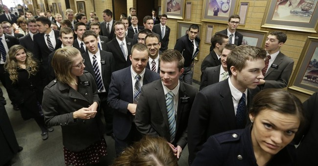 Conversion rate lags behind Mormon missionary increase