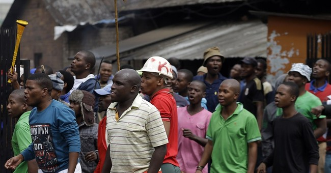 Some foreign-owned shops and cars torched in Johannesburg