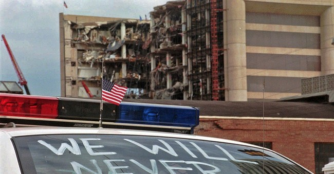 AP PHOTOS: Images of Oklahoma City bombing