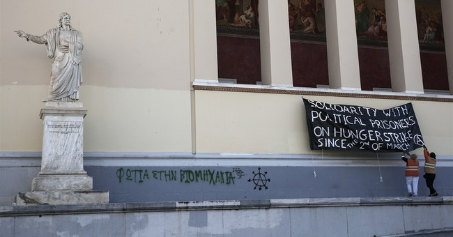 Greek police end anarchist sit-in at Athens University