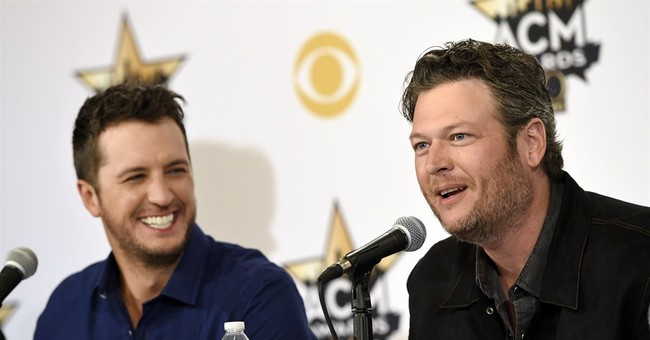 ACM hosts Blake Shelton and Luke Bryan work as comedic duo
