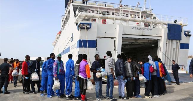 Amid growing migrant crisis, 20 burn victims rescued at sea