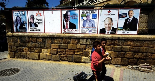 Breakaway Turkish Cypriots pick leader as peace talks loom