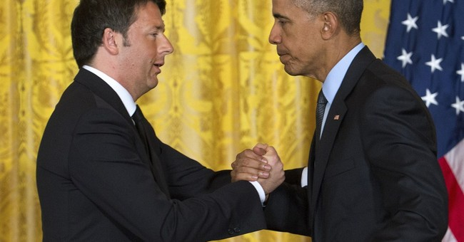 Obama, Renzi pledge to focus on threats from Libya